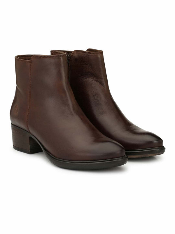 Alberto Torresi Women Nicanor Dark Brown Boots