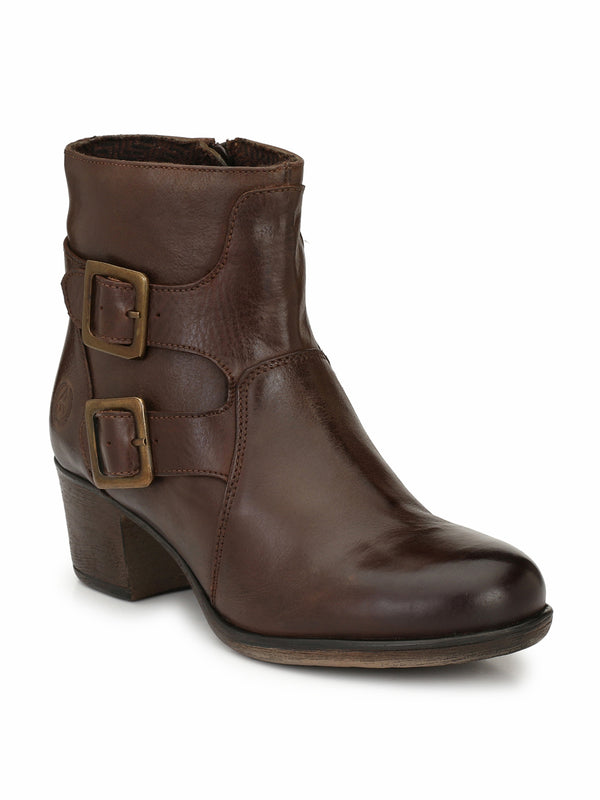 Alberto Torresi Women Nina Dark Brown Boots