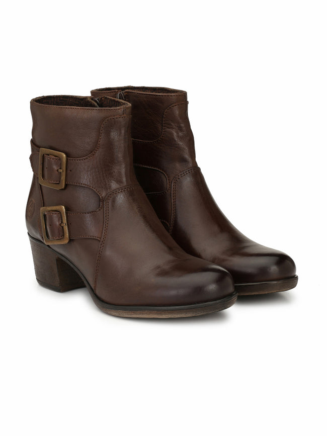 Alberto Torresi Women Nina Dark Brown boot
