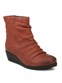 Alberto Torresi Women Noe Red Brown Boots