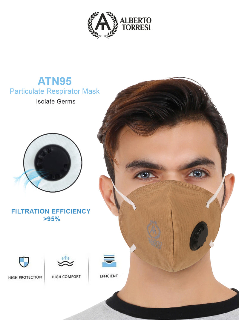 ATN95 Multi Particulate Respirator Mask for Protection - Pack of 4