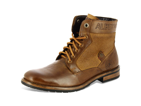 Alberto Torresi Gentile Tan Leather Men Boots