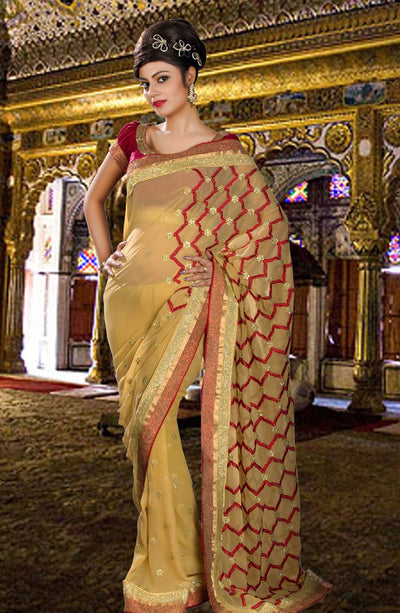 SEQUIN EMBROIDERED SAREE