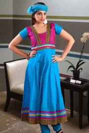 LONG LENGTH ANARKALI SUIT