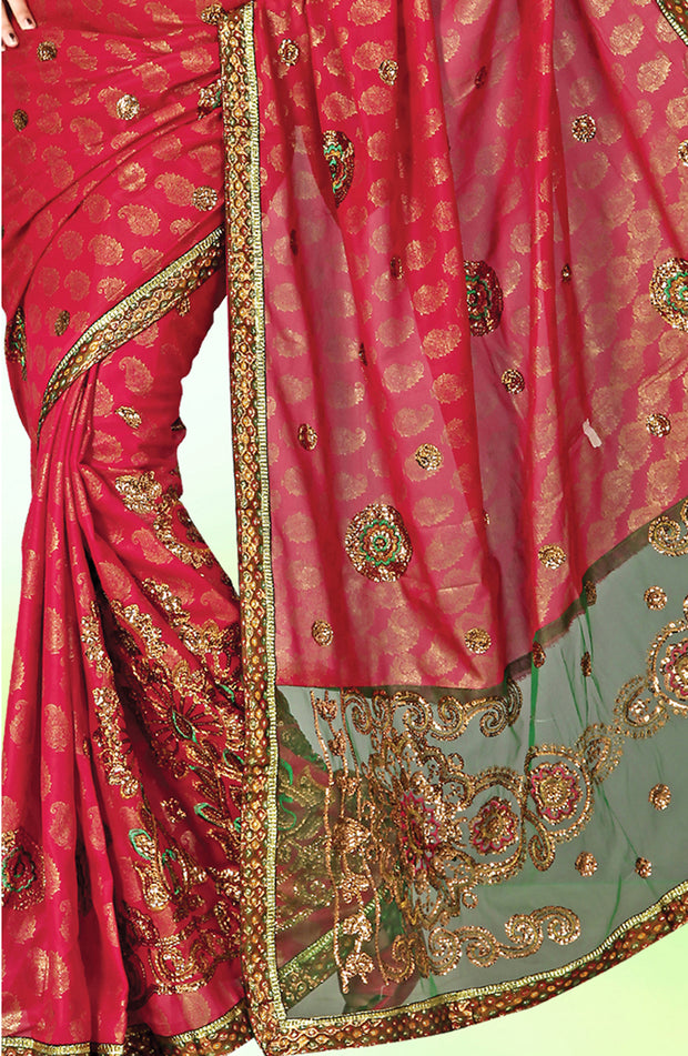 BRASSO HAND EMBD PARTY WEAR SAREE