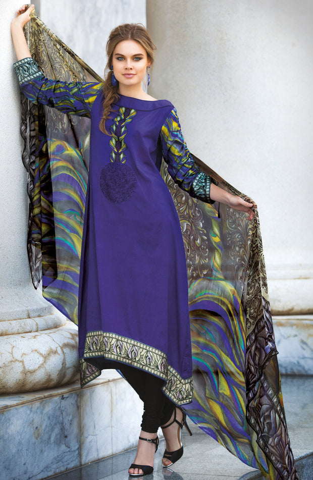 DIGITALLY PRINTED DUPATTA SUIT