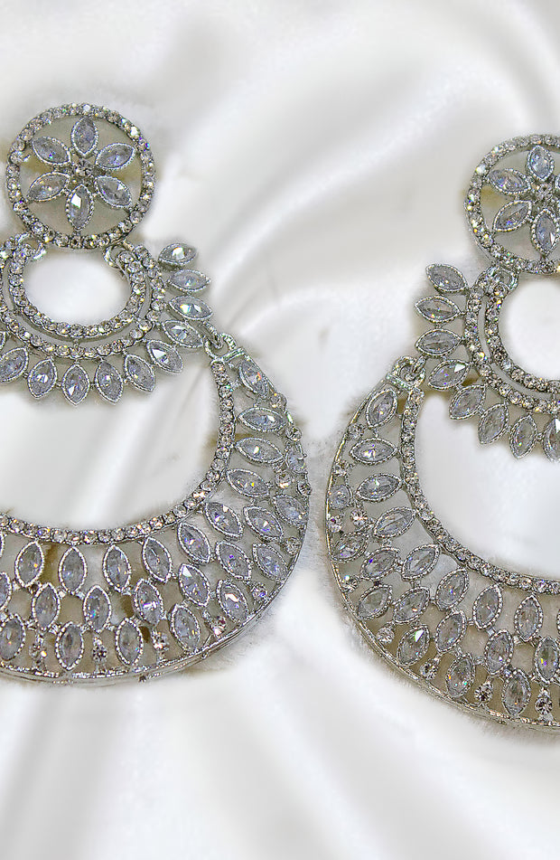 Silver Chand Bali Style Earrings