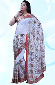 HEAVY EMBROIDERED SEQUIN SAREE