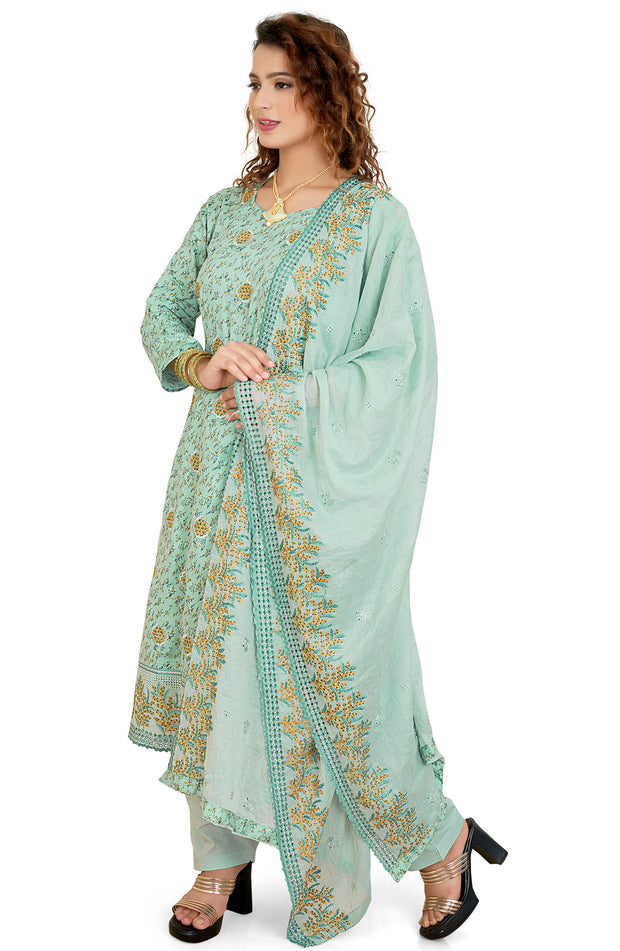 Printed Cotton Salwar Set