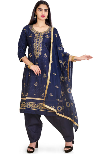 COTTON HEAVY EMBROIDERED SALWAR KAMEEZ