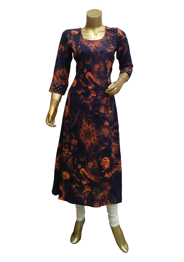 Cotton Digital Printed Kurti