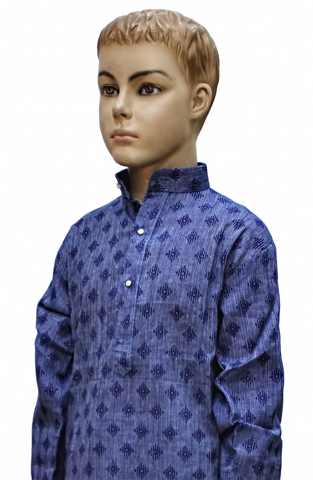 Cotton Printed Kurta Pyjama