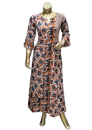 Digital Printed Rayon Long Tunic
