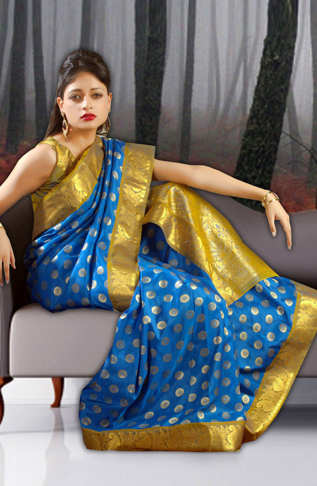 ART SILK BORDER SAREE