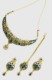 Rama Stoned Gold Platted Set