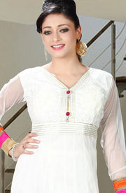 DESIGNER NET ANARKALI SUIT