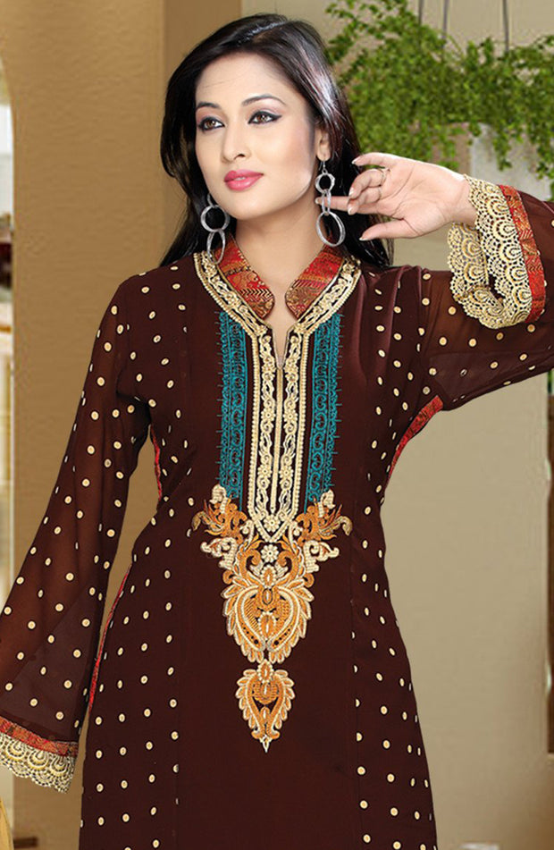 RESHMA EMBROIDERED SALWAR KAMEEZ