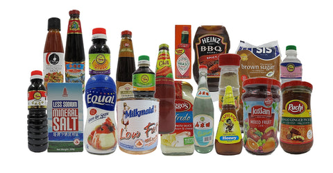 Condiments, Sauces, Seasoning