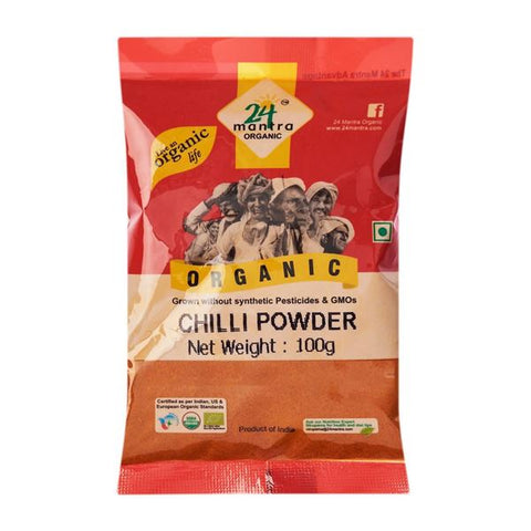 24 mantra organic chilli powder 100g