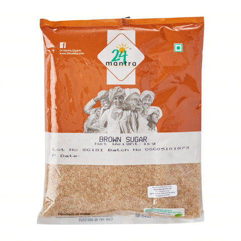 24 mantra organic brown sugar