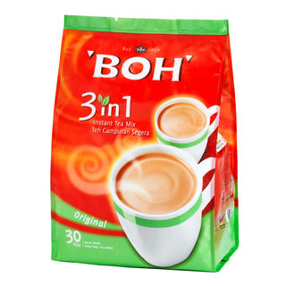 Boh 3 in 1 instant tea mix