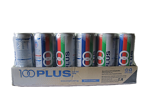 100 Plus Can Carton Pack (24 x 325ml)