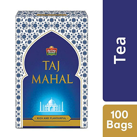 Brooke bond taj mahal 100 tea bags