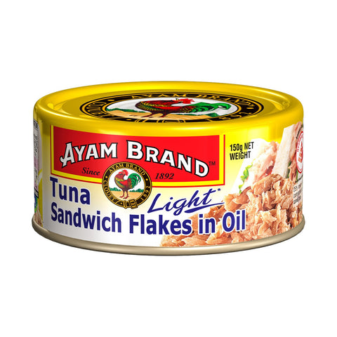 Ayam brand tuna sandwich flakes in oil