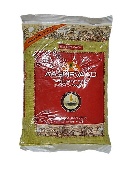 Aashirvaad Whole Wheat Flavour Flour 100% Atta