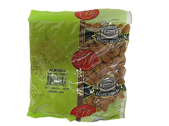 House Brand Almonds 500g