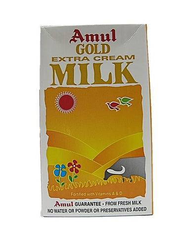 Amul Gold Extra Cream Milk 1L