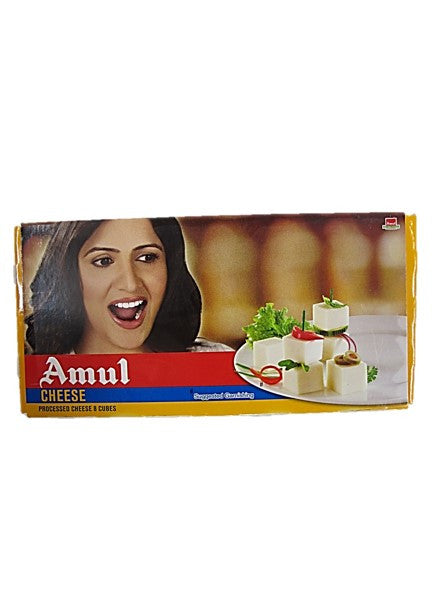 Amul Processed Cheese 8 Cubes 200g