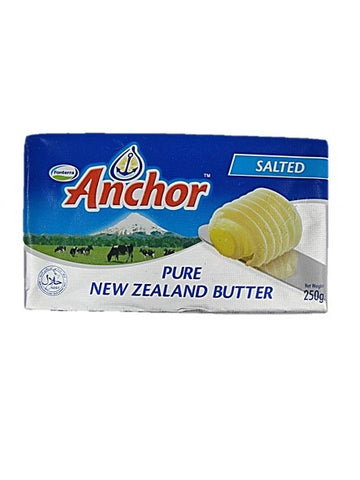 Anchor Pure New Zealand Salted Butter 250g