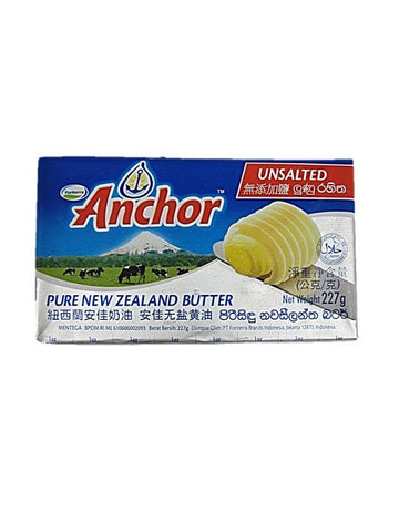 Anchor Pure New Zealand Unsalted Butter 227g