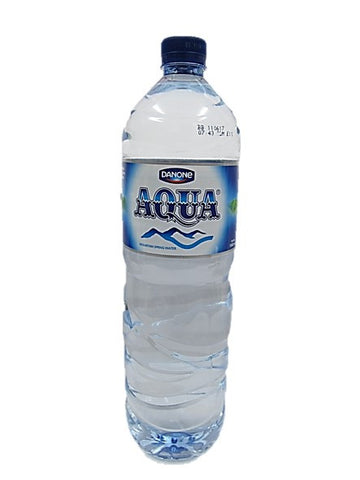 Aqua Mineral Water 1.5L Bottle