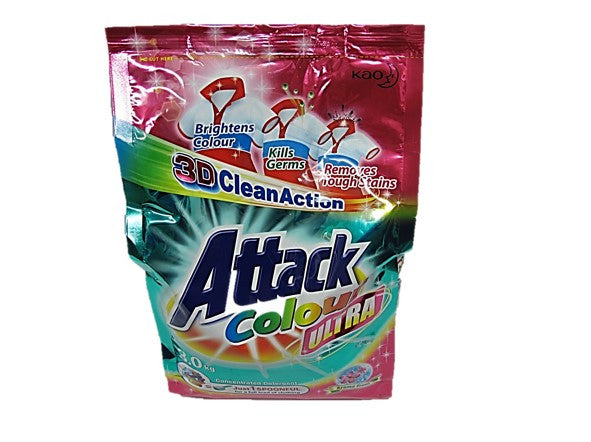 Attack Colour Ultra Powder Detergent 3kg