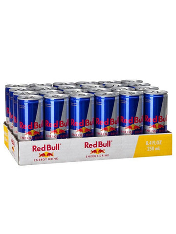 Austria Red Bull Energy Drink 24 Cans Carton (24 Cans x 250ml)