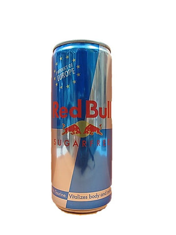 Austria Red Bull Sugar Free Energy Drink Can 250ml