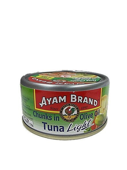 Ayam Brand Chunks in Olive Oil Tuna Light 150g