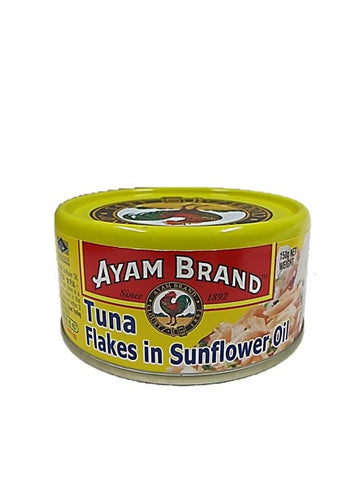 Ayam Brand Tuna Flakes in Sunflower Oil 150g