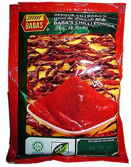 Baba's Chilli Powder 125g