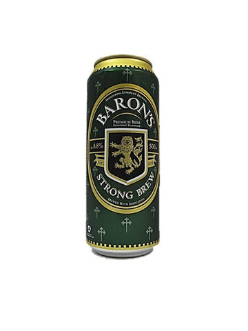 Baron's Strong Brew Beer 500ml