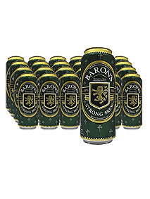 Baron's Strong Brew Beer 500ml x 24 Cans Carton