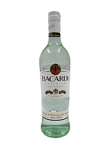 Bacardi Superior Original Premium Rum 700ml