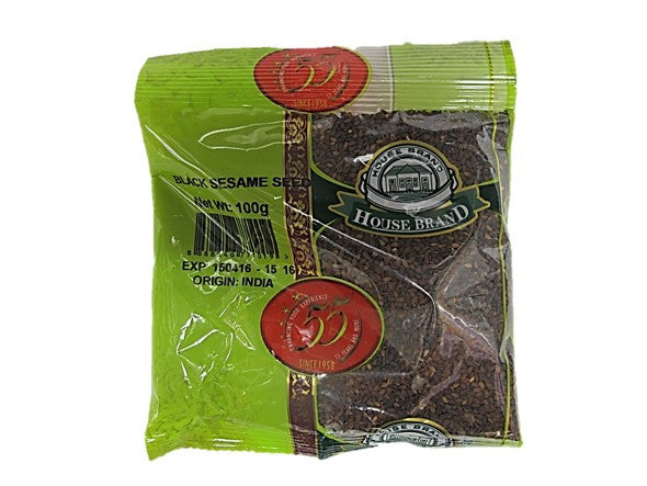 House Brand Black Sesame Seeds 100g