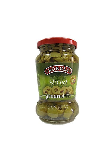 Borges Sliced Green Olives