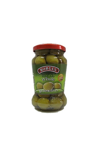 Borges Whole Green Olives