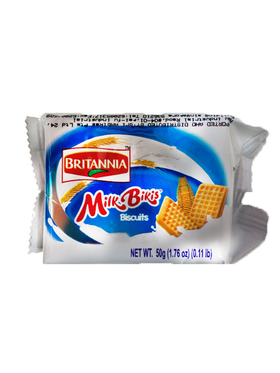 Britannia Milk Biscuits 50g