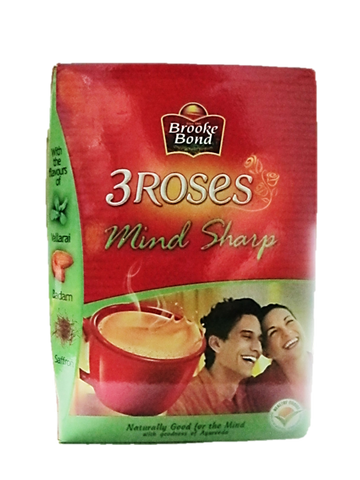Brooke Bond 3 Roses Masala Mind Sharp Tea (Green) 250g