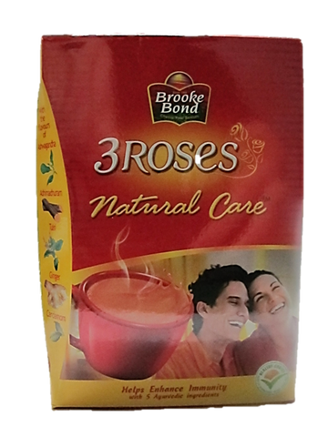 Brooke Bond 3 Roses Masala Mind Sharp Tea (Yellow) 250g